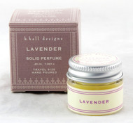 Lavender Solid Perfume K. Hall Design 0.25oz