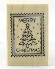 Shop now for Christmas Tree Stamp Wood Mounted Rubber Stamp Hero Arts