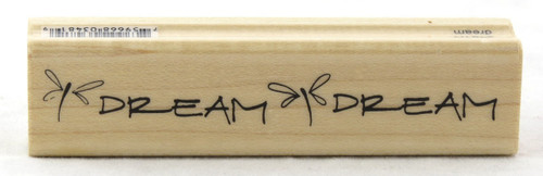 Shop now for Dream Wood Mounted Rubber Stamp Penny Black
