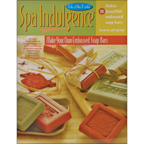 Click here to buy Spa Indulgence Embossed Bar Soap Activity Craft Kit