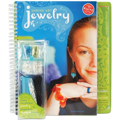 Shrink Art Jewelry Craft Activity Kit Book Klutz