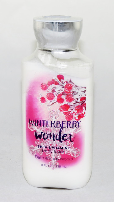Winterberry Wonder Body Lotion Bath and Body Works 8oz