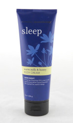 Warm Milk and Honey Sleep Aromatherapy Body Cream Bath and Body Works 8oz