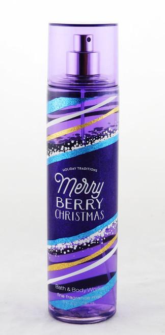 Merry Berry Christmas Fine Fragrance Mist Bath and Body Works 8oz