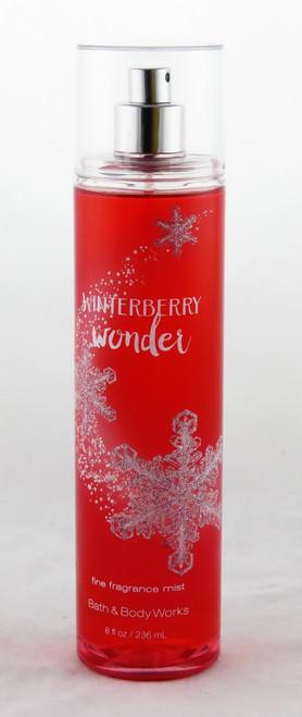 Winterberry Wonder Fine Fragrance Mist Bath and Body Works 8oz
