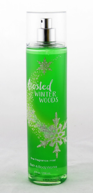 Frosted Winter Woods Fine Fragrance Mist Bath and Body Works 8oz