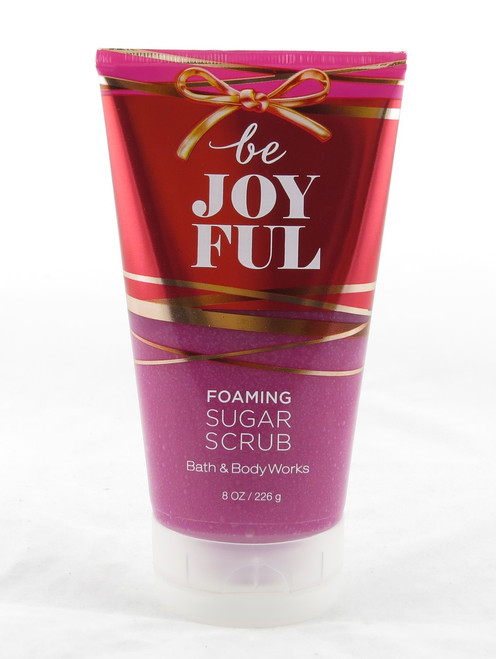 Be Joyful Foaming Sugar Body Scrub Bath and Body Works 8oz