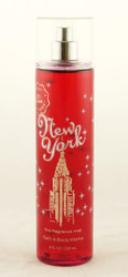 New York Big Apple Caramel Fine Fragrance Mist Bath and Body Works 8oz
