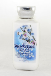 Snow Kissed Sugar Body Lotion Bath and Body Works 8oz