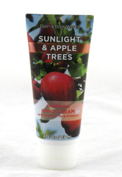 Sunlight and Apple Trees Shea Hand Cream Bath and Body Works 2oz