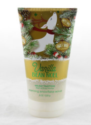 Vanilla Bean Noel Sparkling Snowflake Body Scrub Bath and Body Works 8oz