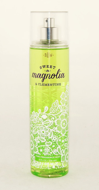 Sweet Magnolia Clementine Fine Fragrance Mist Bath and Body Works 8oz