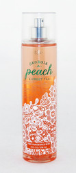 Georgia Peach Sweet Tea Fine Fragrance Mist Bath and Body Works 8oz