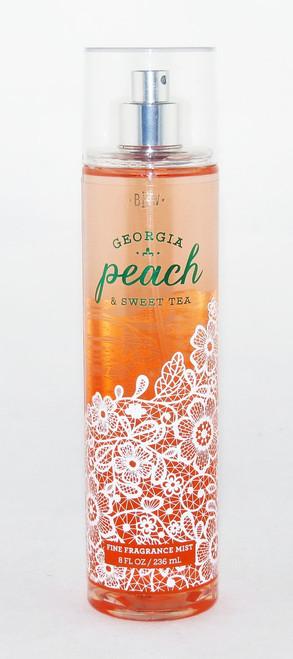 Georgia Peach Sweet Tea Fine Fragrance Mist Bath and Body Works 8oz