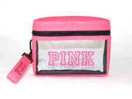 Pure PINK Zip Up Bag Victoria's Secret