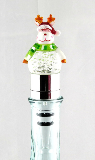 Reindeer LED Acrylic and Metal Bottle Topper