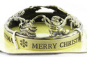 Merry Christmas Festive Collection Illuma-Lid Jar Candle Topper Yankee Candle