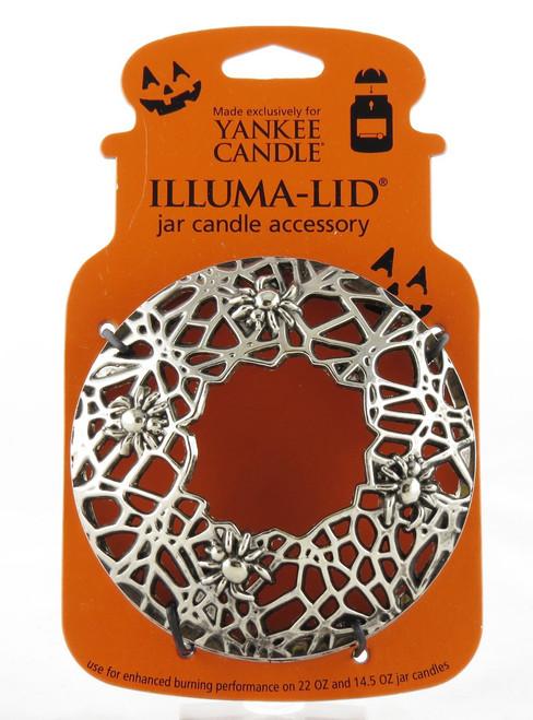 Spider Web Illuma-Lid Jar Candle Topper Yankee Candle