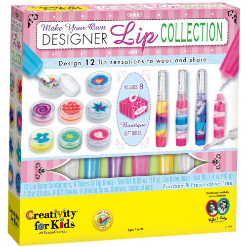 Make Your Own Lipgloss Kit Creativity for Kids Faber Castell