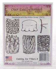Canning Jar Fillers #2 Cling Stamp Collection Our Daily Bread
