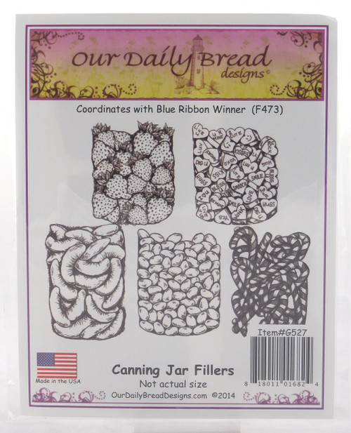 Canning Jar Fillers #1 Cling Stamp Collection Our Daily Bread
