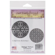 Vintage Pattern Ornament Cling Stamp Collection Our Daily Bread