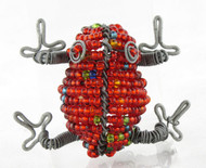 Frog Beaded Animal Fridge Magnet (You Choose Color)