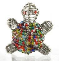 Turtle Beaded Animal Fridge Magnet (You Choose Color)