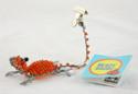 Lizard Beaded Photo Card Clip (You Choose Color)