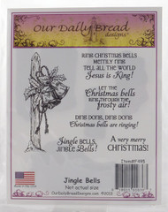 Jingle Bells Cling Stamp Collection Our Daily Bread
