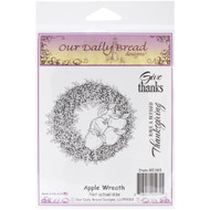 Apple Wreath Cling Stamp Collection Our Daily Bread
