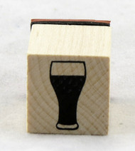Beer Stein Wood Mounted Rubber Stamp Inkadinkado