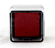 Poinsettia Red Pre-Inked Mini Stamp Pad Martha Stewart