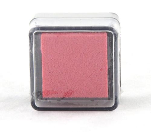 Pink Geranium Pre-Inked Mini Stamp Pad Martha Stewart