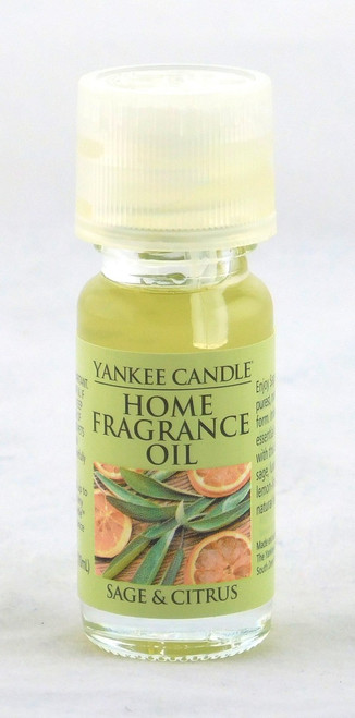 Sage and Citrus Home Fragrance Oil Yankee Candle 0.3oz