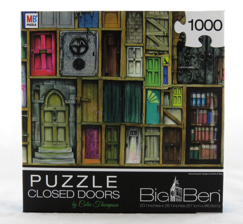 Closed Doors 1000 Piece Jigsaw Puzzle Colin Thompson