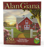 Morning Song 550 Piece Jigsaw Puzzle Alan Giana