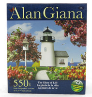 The Glory of Life 550 Piece Jigsaw Puzzle Alan Giana