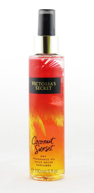 Coconut Sunset Fantasies Collection Dry Fragrance Oil Spray Victoria's Secret 5oz