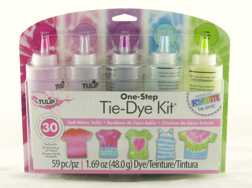 Salt Water Taffy One Step Tie Dye Kit Tulip