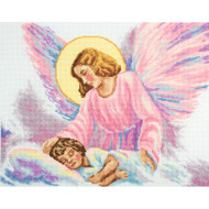 Guardian Angel Counted Cross Stitch Kit RTO