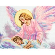 Guardian Angel Counted Cross Stitch Kit RTO