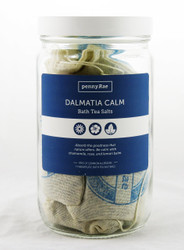 Dalmatia Calm Bath Tea Salts Collection PennyRae