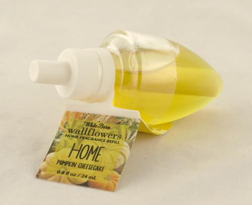 Pumpkin Cheesecake Wallflower Fragrance Refill Bulb Bath and Body Works 0.8oz