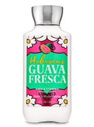Hibiscus Guava Fresca Body Lotion Bath and Body Works 8oz