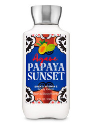 Agave Papaya Sunset Body Lotion Bath and Body Works 8oz