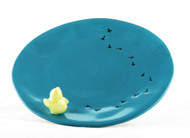 Easter Chicks Painted Ceramic Candle Tray Yankee Candle