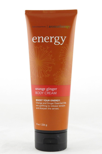 Orange Ginger Boost Aromatherapy Body Cream Bath and Body Works 8oz