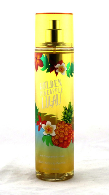 Golden Pineapple Luau Fine Fragrance Mist Bath and Body Works 8oz