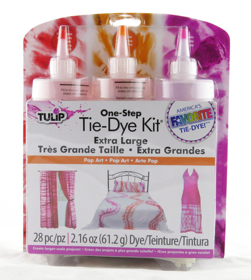 Pop Art One Step Tie Dye Kit Extra Large Projects Tulip